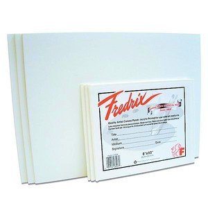 "Fredrix Quality Artist Canvas Panel – 12"" x 12"""