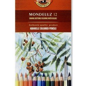 Koh-i-noor Aquarelle Watercolour pencils (12)